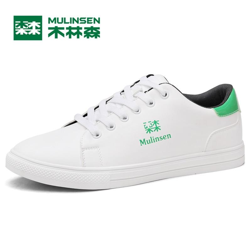цены MULINSEN Breathe Skateboarding Shoes Men & Women Lover's Sport  Smith platfrom active Classic Sneaker 270022