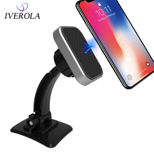 UNIVEROLA Magnetic Car Cell Phone Holder Dashboard Mount For iPhone 8 Samsung Stand Universal Magnet Mobile