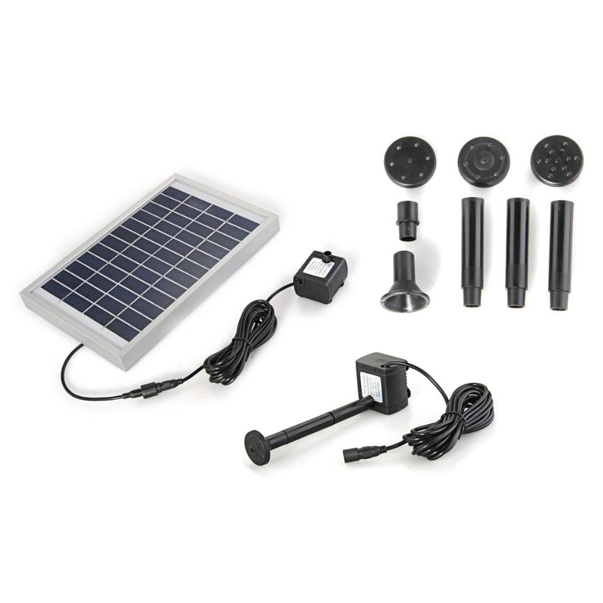 Polycrystalline Silicon Solar Brushless Solar Powered Water Pump Water Cycle Pond Fountain