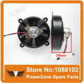 Dirt  Bike Motorcycle ATV Quad Oil Cooler Water Cooler Radiator Electric Cooling  Fan Diameter 148mm  Free Shipping