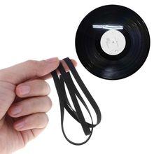Correia giratória de borracha da transmissão da correia da movimentação 5mm 4mm acessórios da substituição phono fita cd