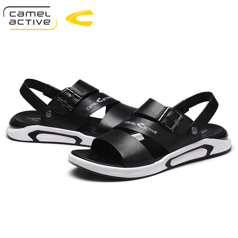 Camel Active Men's Summer Shoes Sandals New Breathable Men Lighted Casual Outdoor Slip On Beach Men Sandals High Quality Fashion
