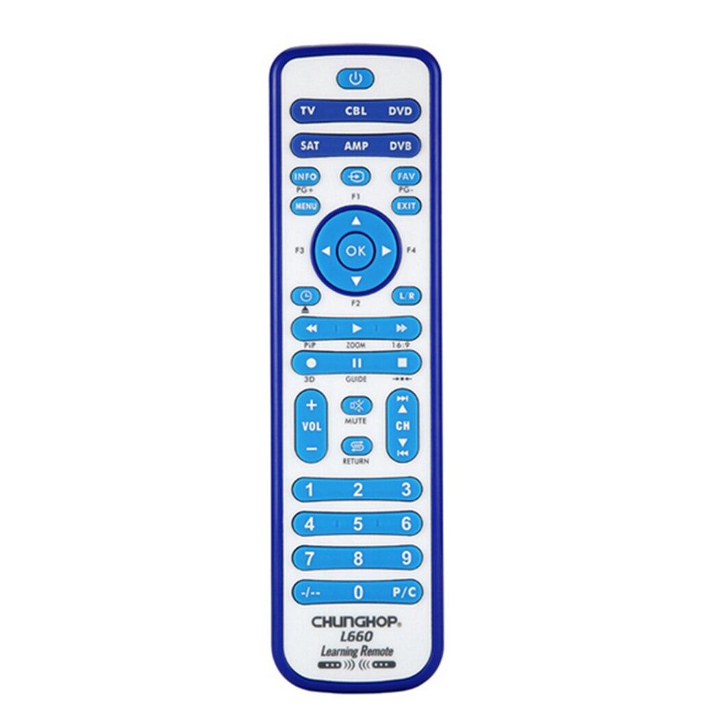 CHUNGHOP copy Combinational Universal Learning Remote Control For TV/SAT/DVD/CBL/DVB-T/AUX 3D SMART TV CE 1PCS L660 copy