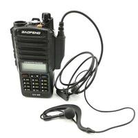 cb רדיו 1 / 2pcs Baofeng UV-9R Waterproof לקבלת אפרכסת מיקרופון PTT אוזניות רדיו CB אוזניות מכשיר הקשר Baofeng UV 9R GT-3WP BF-A58 (3)