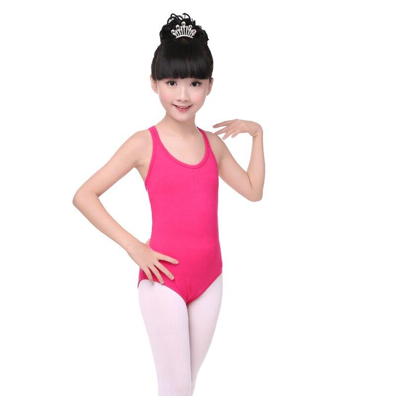 a880fcf40ece Hot Sale Pink Ballet Dance Spaghetti Leotard Children Kids Girls ...