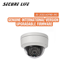 DS-2CD2142FWD-IWS  English version mini dome network cctv camera 4MP, P2P ezviz 1080p IP POE 120dB WDR