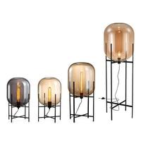 Современный минималистский Nordic торшер настольный свет toolery настольная лампа гостиная чтение черный белый абажур напольные светильники E27 л