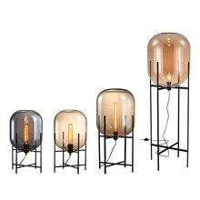 Современный минималистский nordic торшер настольный свет Toolery настольная лампа гостиная чтение черный белый абажур напольные светильники E27 лампа