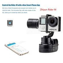 цена на Zhiyun New Arrival Brushless Handheld Gimbal Z1-Rider M WG gimbal for gopro 4 / 3+ / 3 with WG Remote Control APP CONTROL