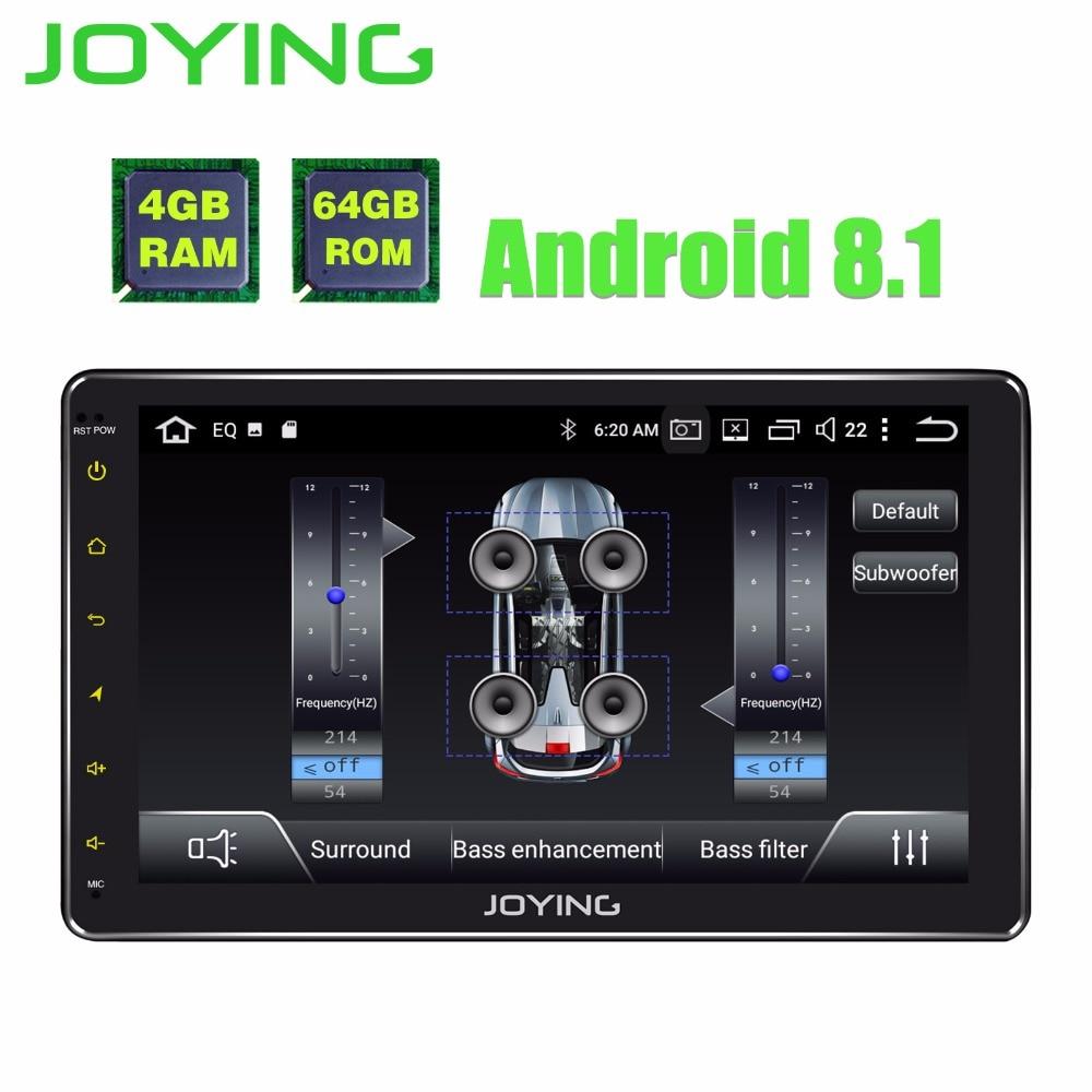 10.1 TDA7851 Unique 1Din Octa base Android 8.1 Universel De Voiture Radio Stéréo Autoradio Multimédia No DVD GPS Musique lecteur Avec DSP