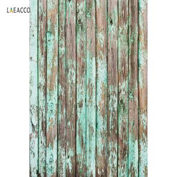 Laeacco Old Wooden Board Planks Texture Party Seamless Pattern Photographic Background Photos Backdrops Digital Photo Studio