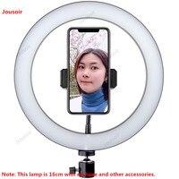 يعيش ملء مصباح قوس معدات التصوير الفيديو تسجيل فتحة كبيرة المهنية الصورة مصباح مصمم على شكل حلقة CD50 T07-في ملحقات استوديو الصور من الأجهزة الإلكترونية الاستهلاكية على