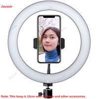 Live fill lamp photographic equipment bracket video recording large aperture professional photo ring light CD50 T07