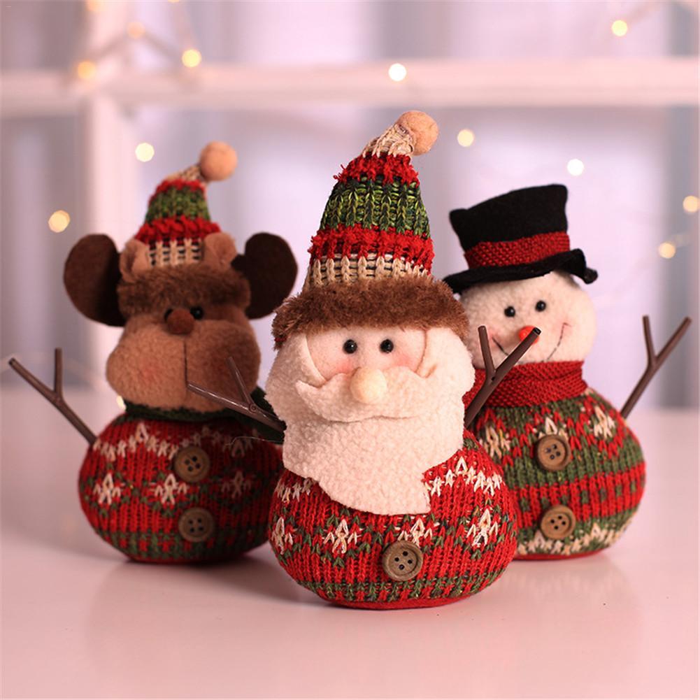 Old Man Christmas Gifts: Christmas Fabric Decoration Old Man Snowman Doll Christmas