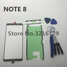 Originele note8 nieuw Front Outer Glas Lens Touch Screen Vervanging voor Samsung Galaxy Note 8 N950 N950F S8 S9 NOTE9 + reparatie Tools(China)