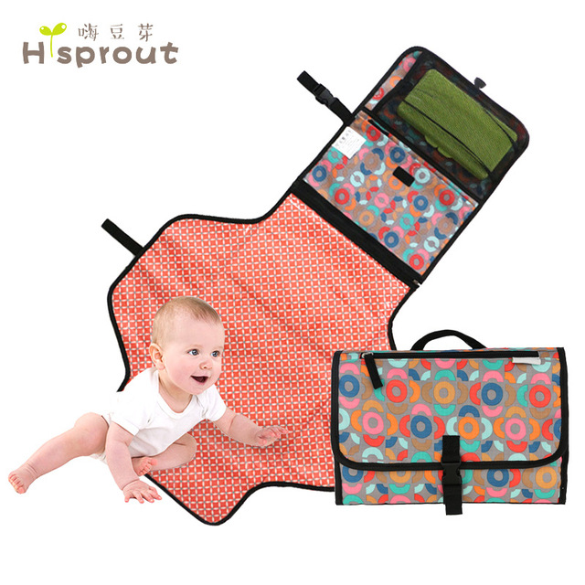 Extra Long Portable Changing Pad Portable Tv Wall Mount Stand Portable Phone Charger Goji Portable Projector Murah: Baby Nappy Changing Pad Mat Bag Portable Diaper Clutch