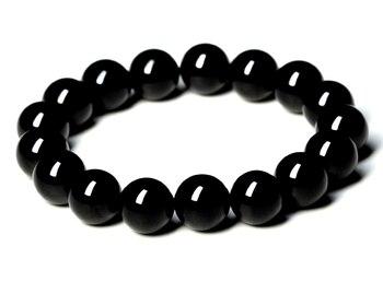 Bracelet 8 Obsidienne Oeil Céleste