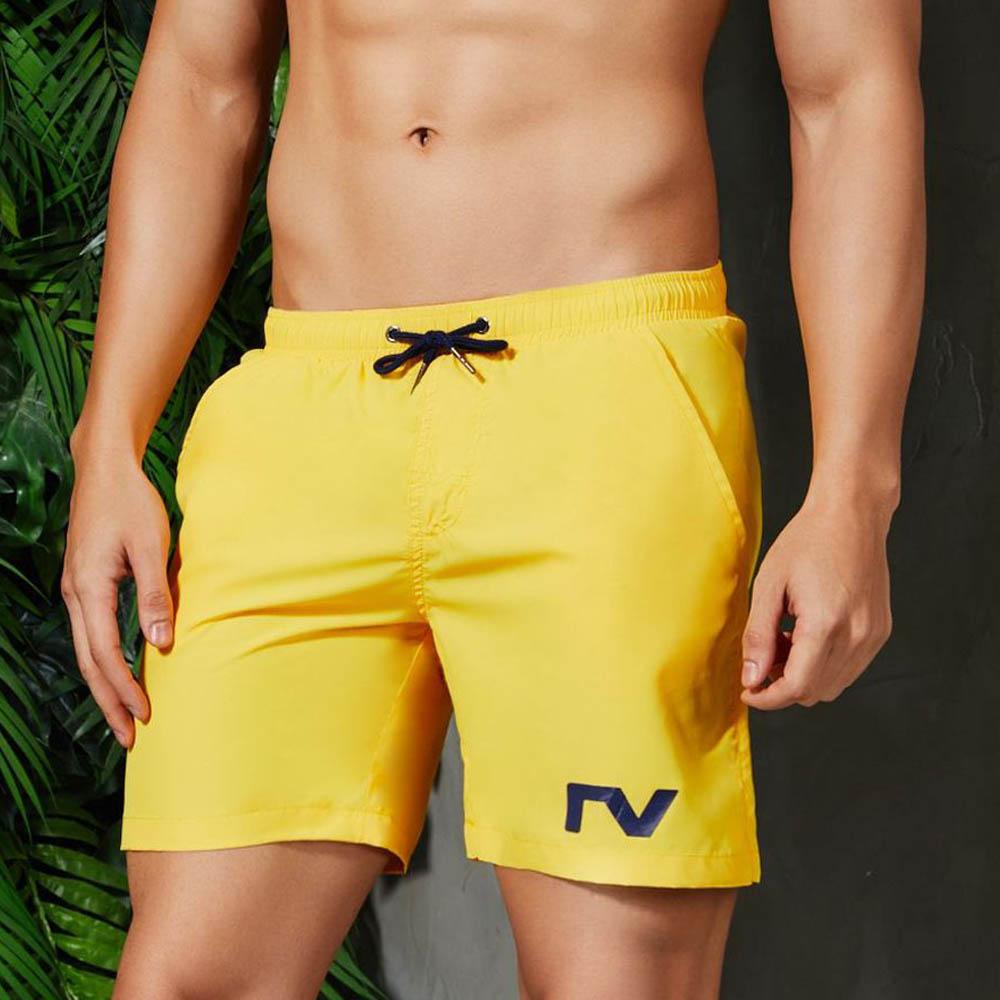 Yehan Summer Men's   Board     Shorts   Solid Men's Bathing   Shorts   Slim Fit Running Gym Jogger   Shorts   for Men   Short   De Bain Low Waist