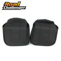 Motorcycle Black Lower Vented Leg Fairing Glove Box Tool Bag For Harley Touring Road King Road Glide Street Glide 2014 2018
