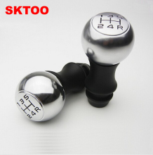 SKTOO For Peugeot 206 307 308 408 Citroen Elysee Sega C2 VTS handball Sport Edition gear shift head Manual Gear Shift Knob