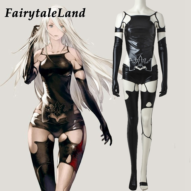 NieR Automata A2 Cosplay Costume Halloween costumes for adult women sexy  costume YoRHa Type A No