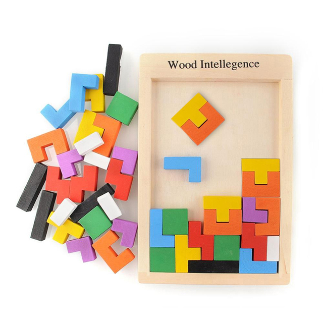 Aliexpress.com : Buy 2017 Hot Sale Educational Wooden Puzzle ...