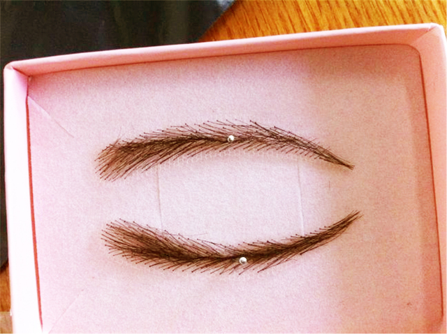 2018 Direct Selling Sobrancelha Eyeliner Stencil 1 Pair (2pcs) Color For Eyebrows / False With Light Eyebrow Top /adult Human 5