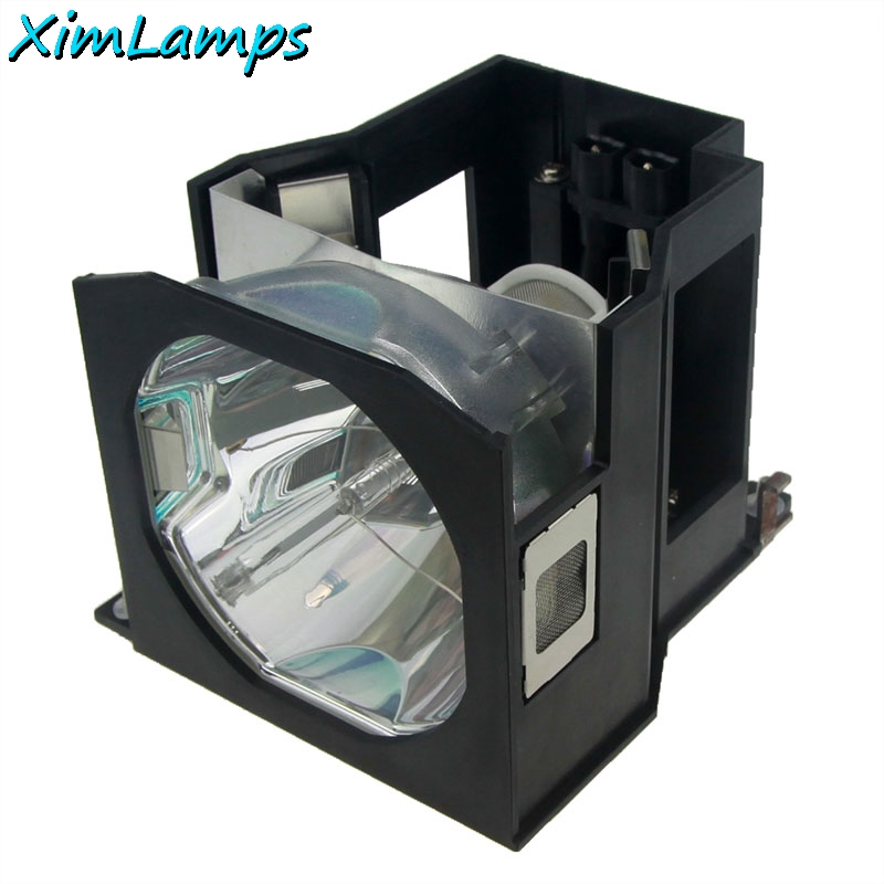 XIM Lamps ET-LAD7700W Replacement Projector Bulb/lamp Inside with Housing for PANASONIC PT-DW7000 PT-DW7000E PT-DW7000EK xim et lab80 projector bare lamp with housing for panasonic pt lb90ntu pt lb90u pt lb75 pt lb75ntu pt lb75u pt lb78v pt lb80