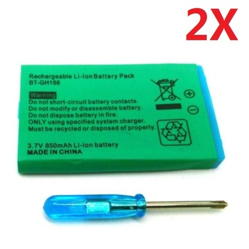 2x batería para Nintendo GBA GameBoy Advance Gamepad Bateria nuevo acumulador de...