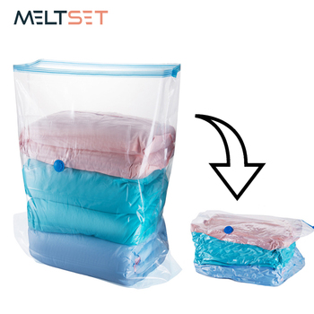3 Demension Vacuum Bags for Quilt Pillow Clothes Storage Bag Space Saving Wardrobe Closet Organizer Transparent Ziplock Bag clothes storage bag compressed vacuum bag for clothes quilt bedding pillow folding clothes organizer travel saving space bags