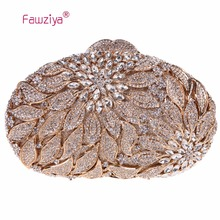 Fawziya Set Bag Alocasia Macrorrhizos Floral Clutch Bags For Womens Purses