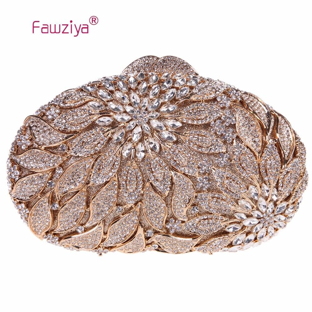 Fawziya font b Set b font Bag Alocasia Macrorrhizos Floral Clutch Bags For Womens Purses