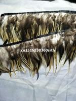 Новый 12-15 см/5-6 дюймов широкий 100 ярдов Редкие природные Eagle Перья ленты Декоративные DIY костюмы и Интимные аксессуары для выступления
