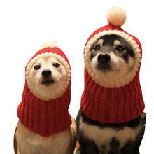 Knitted Pet Hat Warm Comfortable Lovely Dog Hats For Pets Cats Winter Warm Knitting Dog Cap Dog Beanie For Puppies Kittens