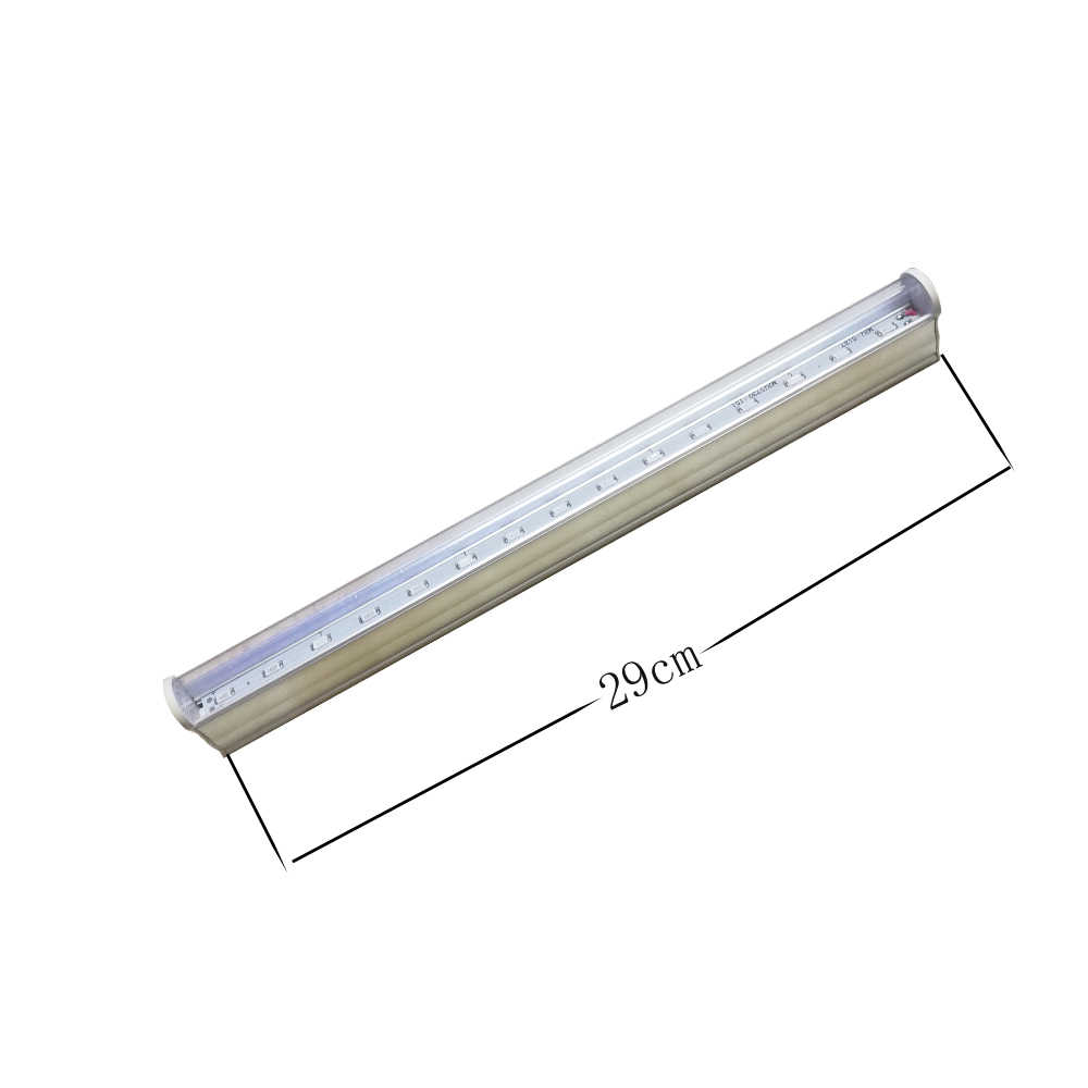 Led Grow Lights tube lamp 660nm Red and 450nm Blue Full Spectrum Led grow Lamp for indoor Plants Flower Growth Switch Wire