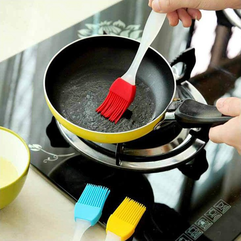 Silicone Pastry Brush Baking Bakeware BBQ Cake Pastry Bread Oil Cream Cooking BBQ Utensil Safety Basting Brush Kitchen Tools