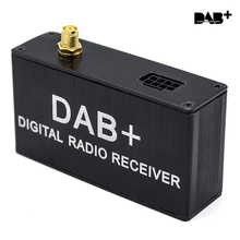 """DAB  DAB Box Digital Audio Broadcasting System Digital Radio Receiver Box For """"KLYDE"""" Android 5.1 6.0 7.1 DVD Player"""