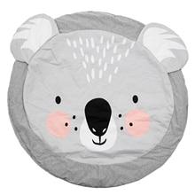 90 см детские коврики для игр, круглые Ковровые Коврики, Хлопковое одеяло для ползания, напольный ковер для детской комнаты, украшение INS, детские подарки, коала