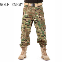 8 Colors Fashion Designer Mens Military Camouflage Cargo Pants Army Outdoor Men S Overalls Tactical Trousers
