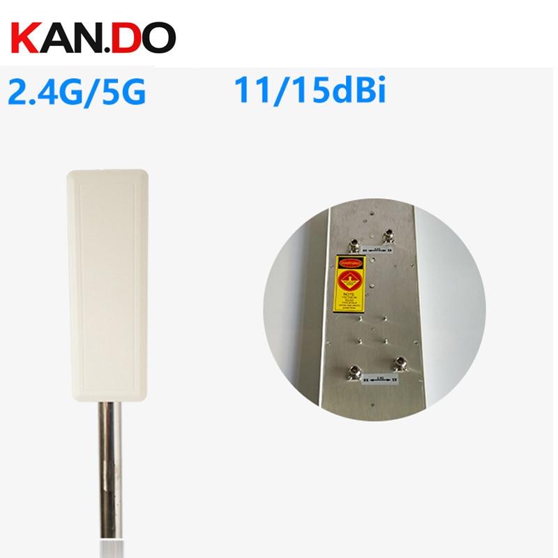 8 pcs/lot 13dbi SMA connecteur 2.4 GHz antenne wifi, antenne yagi 2.4G pour réception ou transmission antenne yagi 2400 mhz