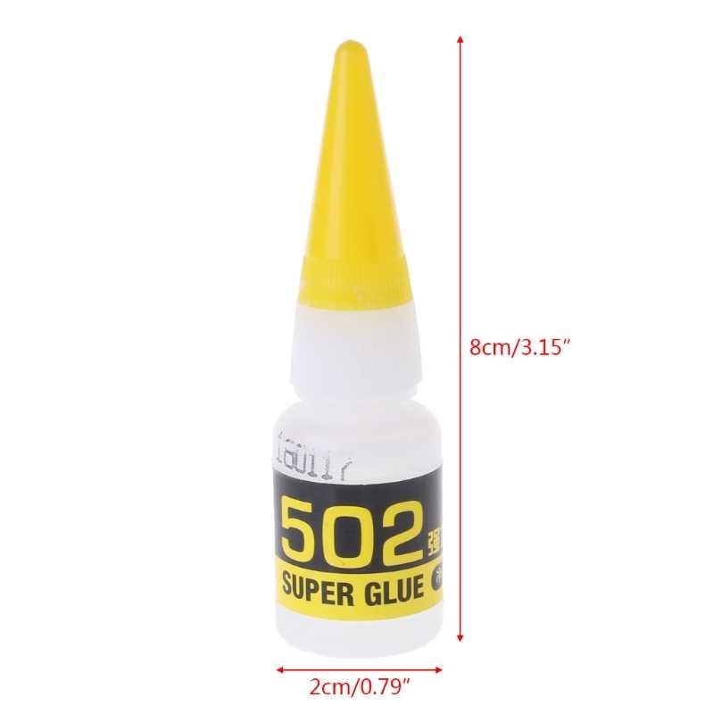 502 kurutma hızlı süper güçlü tutkal bağ siyanoakrilat yapıştırıcı tamir araçları 8g JUL-26D
