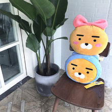 1 Pc Lovely 35cm Kakao Friends Plush Pillow Stuffed Cartoon Love Doll Ryan Cocoa Kids Children Love Toys Lover Valentine's Gift(China)