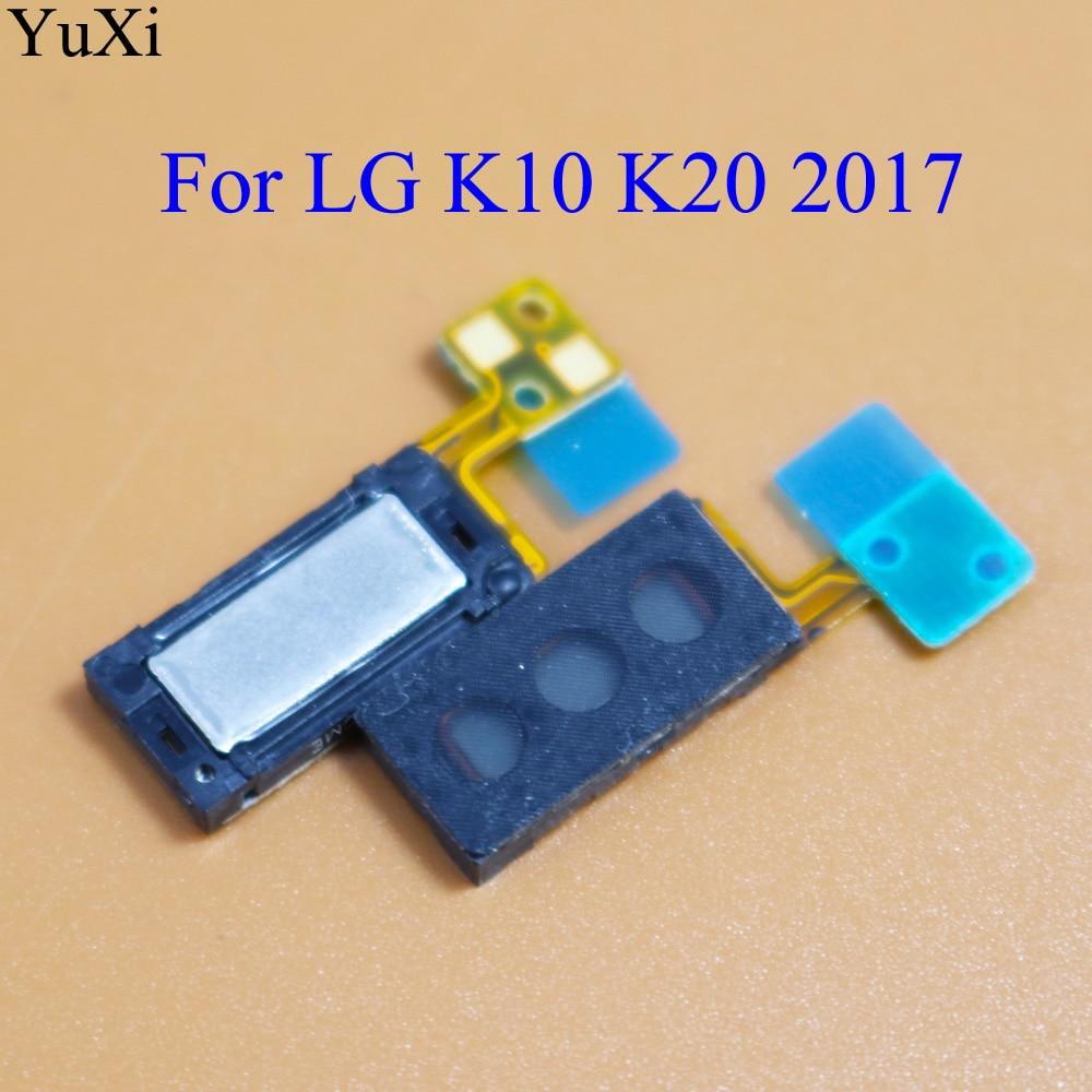 YuXi For LG K10 K20 2017 Earpiece Speaker Earphone Receiver Repair Part