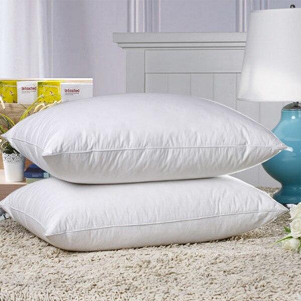 livraison gratuite enfant duvet d oie oreiller et oreiller de duvet et confortable et doux paypal accepte dans oreillers de maison jardin sur