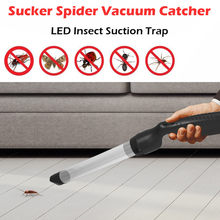 Praktische moskito mörder Spinne Vakuum LED Insekt Saug Trap Catcher Fly Bugs Buster elektronik moskito mörder lampe led camp(China)