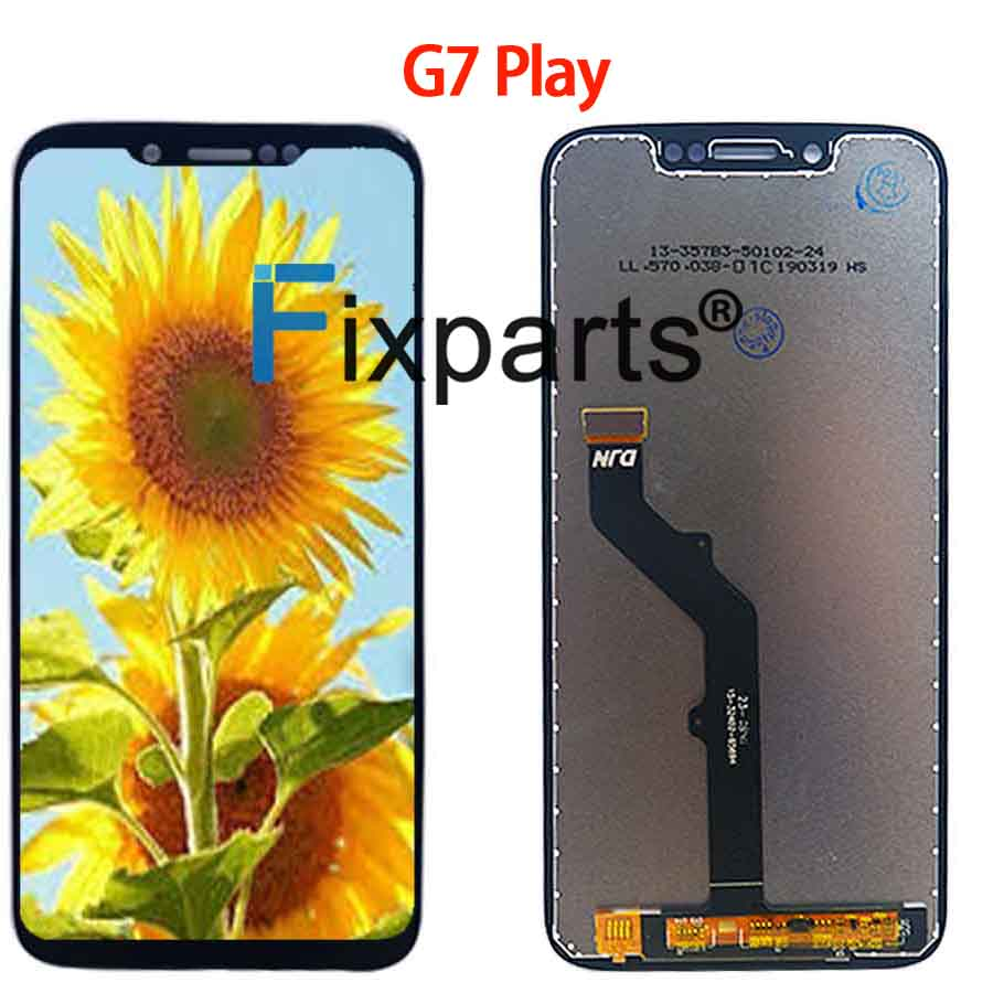 Original For Motorola Moto G7 XT1962 LCD G7 Play Display Touch Screen Sensor Panel Digiziter Assembly New For moto G7 Power LCD (4)