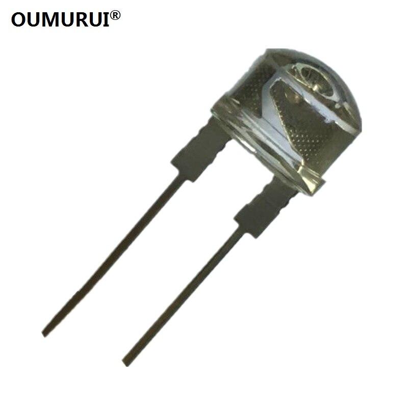 8mm Straw Hat Led: F8 High Bright 8mm LED Strawhat Diode Short Leg Emitting