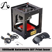 ICROATO CNC Machine 1000MW NEJE 1000mW Automatic DIY Print Laser Engraver Mini USB Engraving Machine Off
