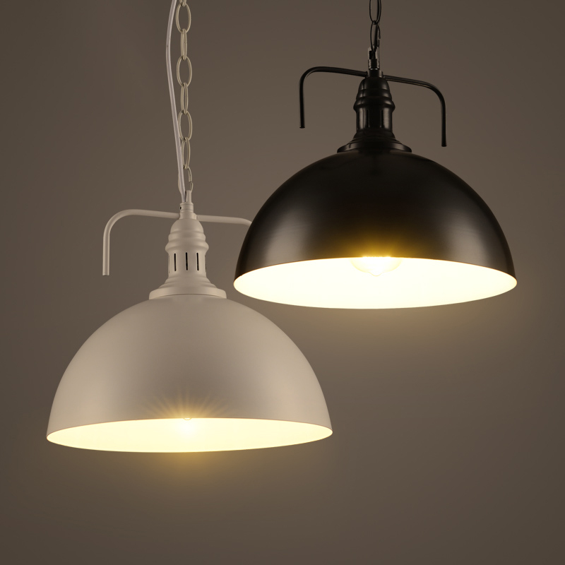 1 Pieces Retro Industrial Style Chain Pendant Light Lamp
