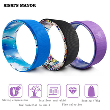 SISSI'S MANOR Yoga Circle Wheel ABS Pilates Magic Circle Ring Gym Workout Back Training Tool Home Slimming Fitness Equipment